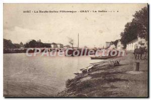 Postcard The Old Gray Saone
