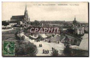 Old Postcard Environs de Rouen Bonsecours View Plateau