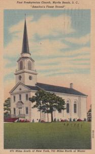 MYRTLE BEACH , South Carolina , 1957 ; First Presbyterian Church