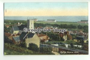 tp9586 - Kent - General View across Hythe Town, towards the Coast - postcard