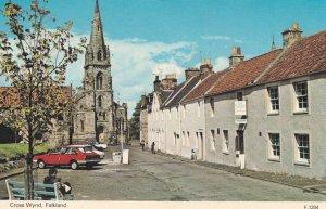Cross Wynd Falkland Fife 1970s Scottish Postcard