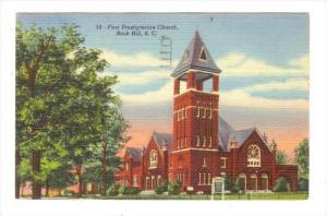 First Presbyterian Church, Rock Hill, South Carolina, PU-1952