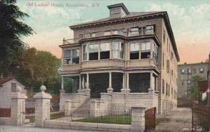 New York Amsterdam Old Ladies Home 1908