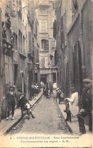 Vieux-Marseille Rue Lanternevie Pensionnaires repos Prostitutes Postcard
