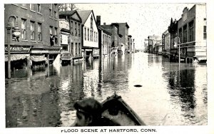 CT - Hartford. 1936 Flood