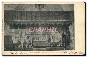 Old Postcard Moulineaux swear the church