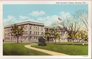 KEARNEY - STATE TEACHERS COLLEGE - Exterior view of the building 1920s era