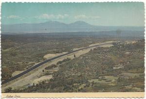Raton Pass, New Mexico-Colorado State Line, Postcard