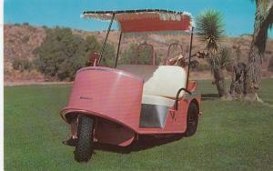 Closeup of Golf Cart , 50-60s