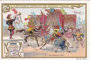 Liebig Trade Card S.623 Duelling No 2 Un tourni 1559