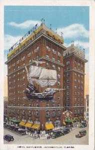 Exterior, Hotel Mayflower, Jacksonville, Florida,  PU-1934