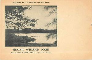 Hoosic Whisick Pond, Blue Hill Reservation, Canton, MA, Massachusetts, UND/B