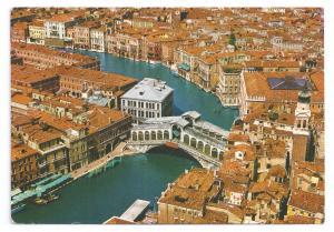 Italy Venezia Venice Grand Canal Rialto Bridge Aerial View