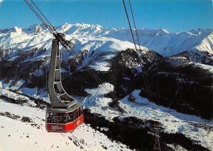 Switzerland Luftseilbahn Fiesch-Eggishorn Blinnenhorn Cable Car Mountains