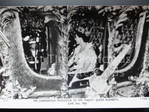 Tuck RP Queen Elizabeth ll Coronation PROCESSION 2nd June 1953 - C1