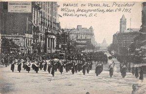 Washington DC Pennsylvania Ave President Wilson Innaguration Parade PC JJ649492
