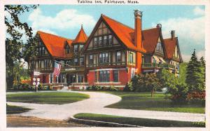 Tabitha Inn, Fairhaven, Massachusetts, Early Postcard, Unused
