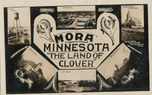 RP: MORA , Minnesota , 1912 ; 6 view postcard
