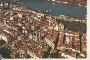 Postal 014258: Vista aerea de Aviles, Asturias