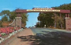 Canada - Ontario, Gananogue. Gateway to Thousand Islands