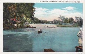 Nebraska Boys Town Grand Island Boating On Schimmers Lake