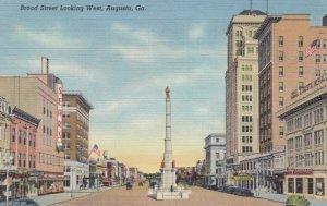 AUGUSTA , Georgia , 30-40s ; Broad Street