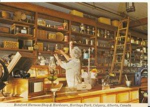 Canada Postcard - Botsford Harness Shop and Hardware -  Alberta - Ref 17397A