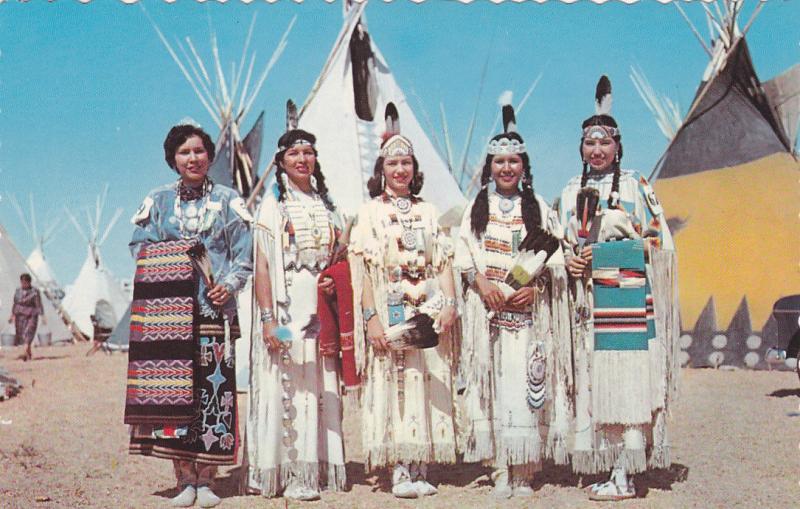 Indian Maidens , Ontario , Canada , 50-60s