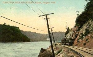 NY - Niagara Falls. Great Gorge Route, Trolley