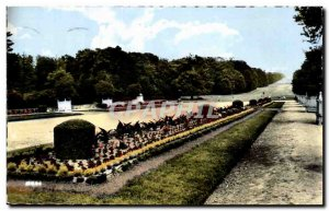 Compiegne Old Postcard Palace park