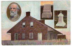Gettysburg, Pa., Gen. Lee, His Headquarters