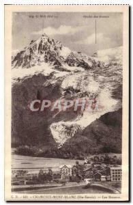 Old Postcard Chamonix Haute Savoie Les Bossons