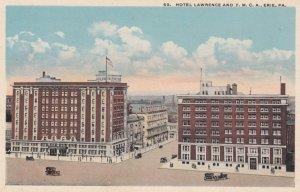 ERIE , Pennsylvania, 1900-10s ; Hotel Lawrence