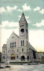 Catholic Church Des Moines IA Unused