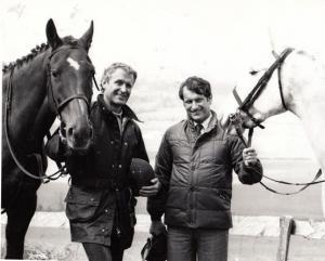 Bob Champion Horse Racing Champion Jockey Busmans Holiday Ireland TV Press Photo