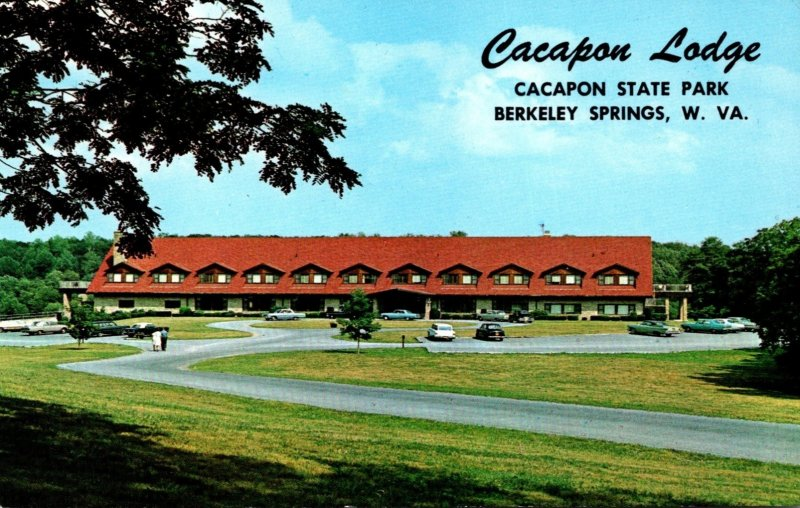 West Virginia Berkeley Springs Cacapon State Park Cacapon Lodge