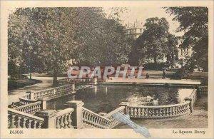 Old Postcard Dijon Square Darcy