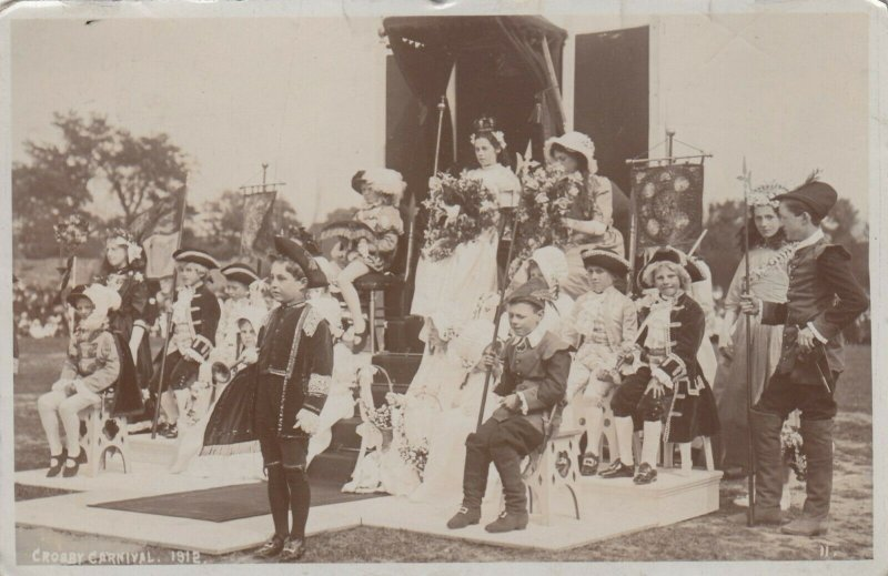 RP: BLUNDELLSANDS , Merseyside , England , 1912 ; Crosby Carnival Court