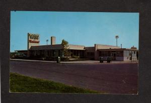 NY New York Thruway Highway Turnpike Rest Stop Holiday House Restaurant Postcard