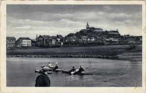 Rowing: Siegburg - Partie an der Sieg , Germany , PU-1932