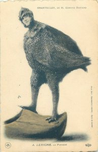 Chantecler de M Edmond Rostand A. Leriche La Pintade guinea fowl theatre costume