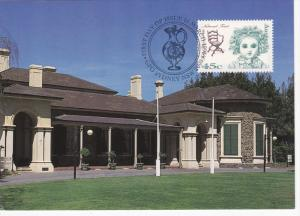 Stamp & Postcard , Ayers House , Adelaide , Australia , PU-1996