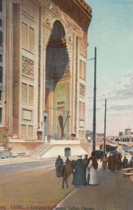 EGYPT , 00-10s ; Cairo , Entrance to Mosque Sultan Hassan