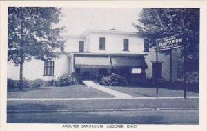 Ohio Andover Andover Sanitarium