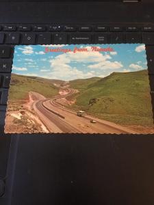 Vintage Postcard; Greetings from Nevada