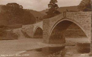 RP ; LLANRWST , Wales , UK , 1910s ; Shaking Bridge