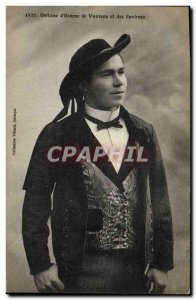 Postcard Old Folk Costume d & # 39homme Vannes and around