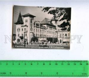 206056 RUSSIA SARATOV Conservatory photo 1963 Tir10t old