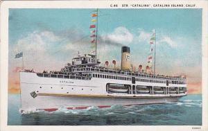 California Catalina Island Steamer Catalina