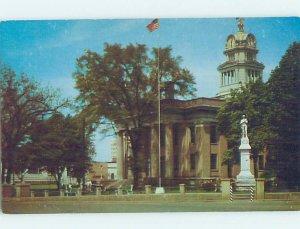 Pre-1980 COURTHOUSE SCENE Huntsville Alabama AL AE9694